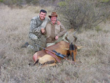 Pieter, Bob and his Hartebeest