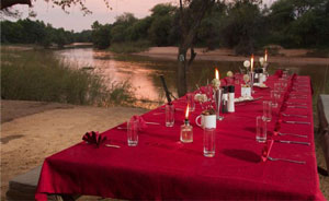 Cruiser Safaris picnic area on the Limpopo River