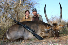 Roger and Tommie Schulz - Waterbuck